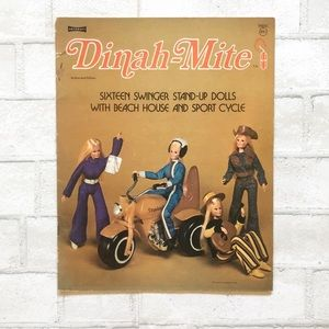 Vintage Dinah-Mite Paper-dolls